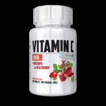 BioHealth - Vitamin C 1000 + Rose Hips - 100 tabletta
