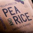 Kép 2/4 - Pea & Rice Vegan Protein - 30 g - VEGAN - Nutriversum - csokoládé