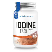 Iodine - 60 tabletta - VITA - Nutriversum