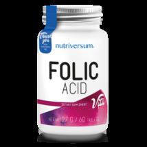 Folic Acid - 60 tabletta - VITA - Nutriversum