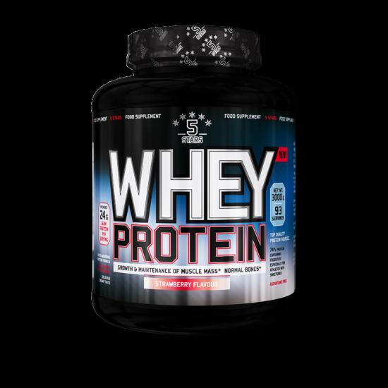 5Stars - Whey Protein - 3 000 g