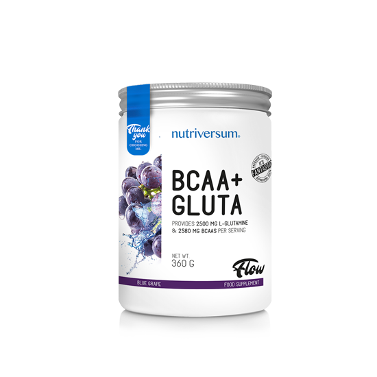 Nutriversum - FLOW - BCAA+GLUTA - 360 g