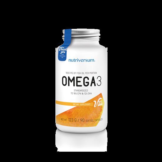 Nutriversum - VITA - Omega 3 - 90 kapszula