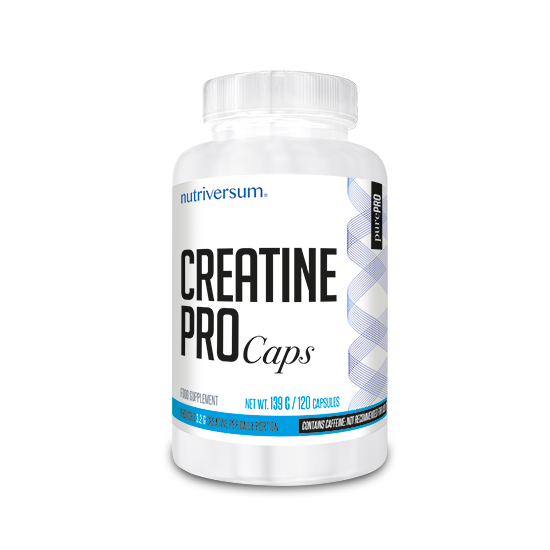 PurePro - Creatine PRO Caps - 120 tabletta