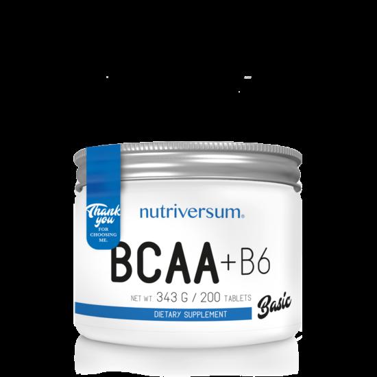 Nutriversum - BASIC - BCAA+B6 - 200 tabletta
