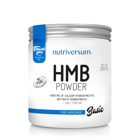 HMB Powder - 200 g - BASIC - Nutriversum