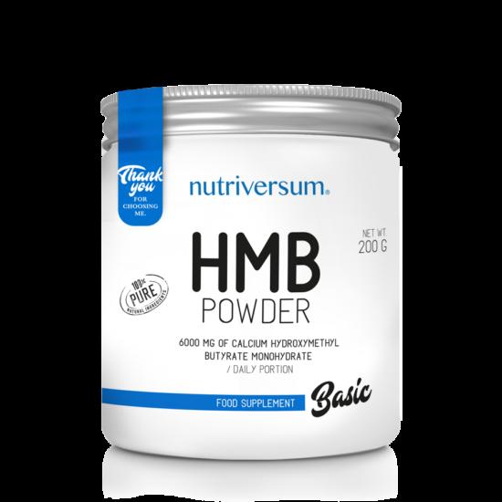 HMB Powder - 200 g - BASIC - Nutriversum - ízesítetlen