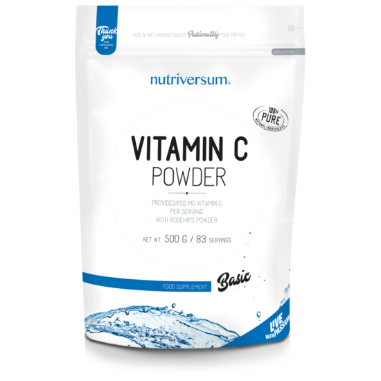 Nutriversum - BASIC - C-vitamin Powder - 500 g
