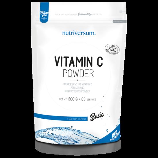 Nutriversum - BASIC - C-vitamin Powder - 500 g