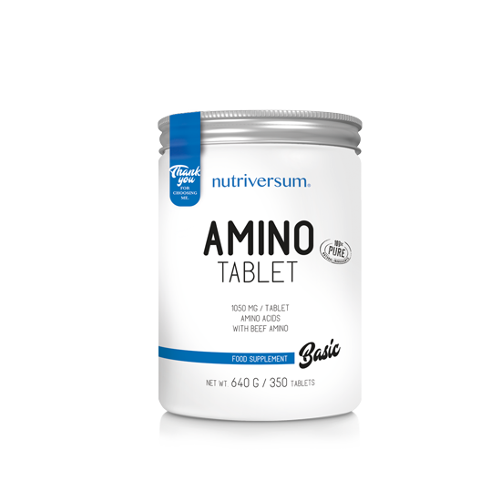 Nutriversum - BASIC - Amino Tablet - 350 tabletta