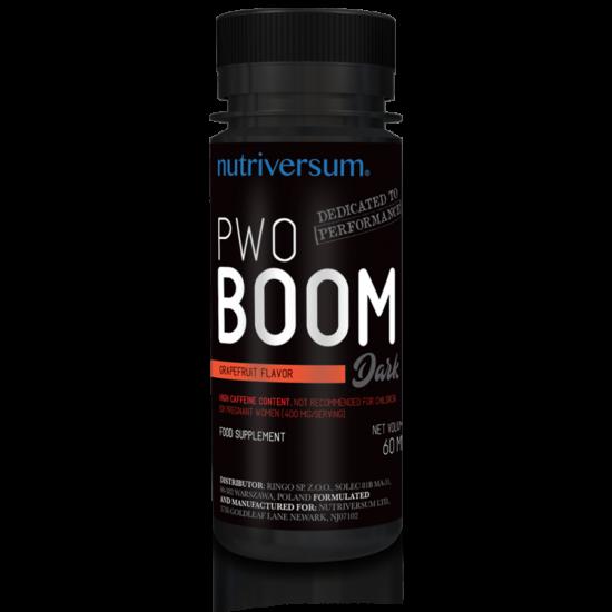 PWO Boom - 60ml - DARK - Nutriversum - grapefruit