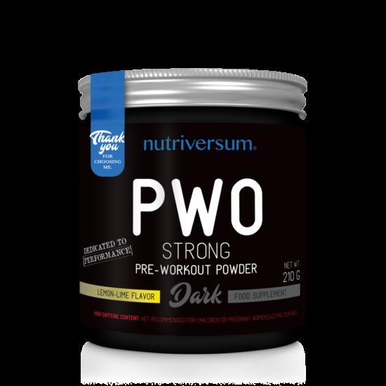 Nutriversum - DARK - PWO Strong - 210g