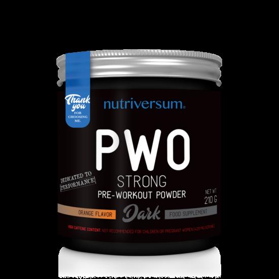 PWO Strong - 210g - DARK - Nutriversum - narancs