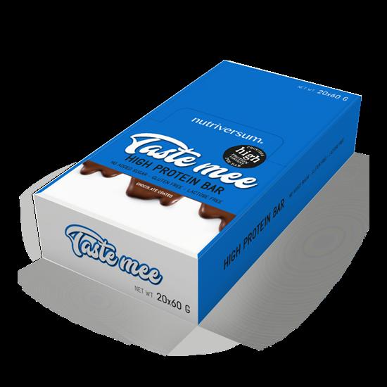 Nutriversum - DESSERT - Taste Mee Protein Bar - 20x60 g (csoki bevonatos)