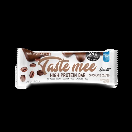 Taste Mee Protein Bar - 60 g (csoki bevonatos) - DESSERT - Nutriversum - cappuccino