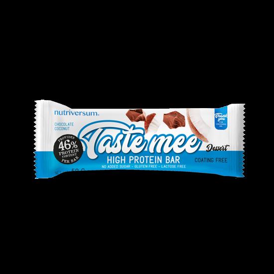 Taste Mee Protein Bar - 50 g - DESSERT - Nutriversum - csokoládé-kókusz