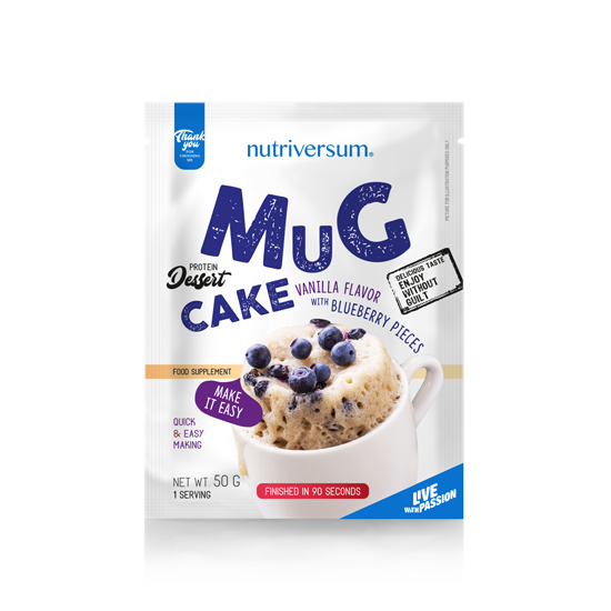 Nutriversum - DESSERT - Mug Cake - 50 g