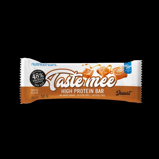 Taste Mee Protein Bar - 50 g - DESSERT - Nutriversum - toffee