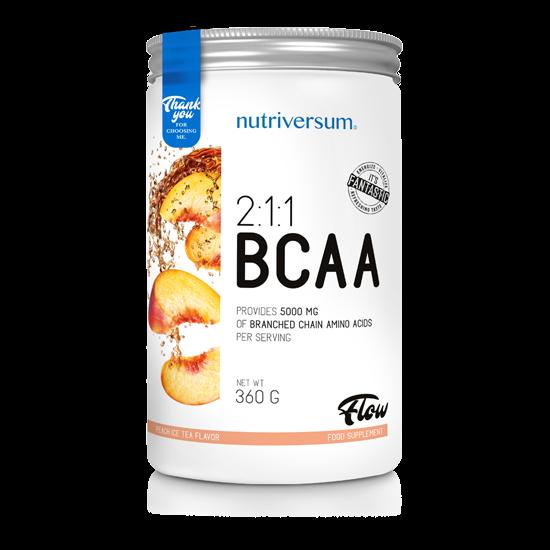 2:1:1 BCAA - 360 g - FLOW - Nutriversum - barackos ice tea