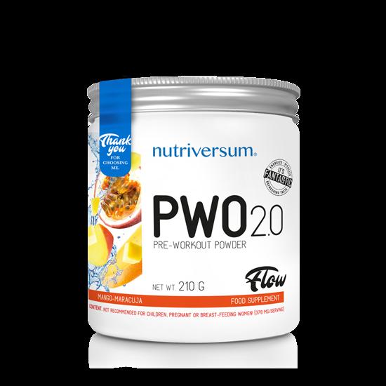 PWO 2.0 - 210g - FLOW - Nutriversum - mangó-maracuja