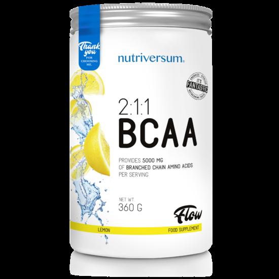 2:1:1 BCAA - 360 g - FLOW - Nutriversum - citrom