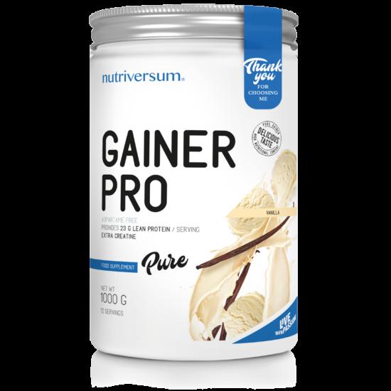 Gainer Pro - 1 000 g - PURE - Nutriversum - vanília
