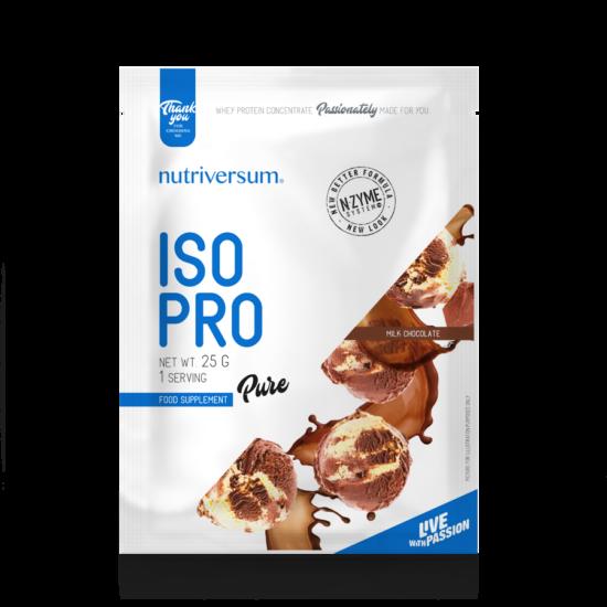 ISO PRO - 25 g - PURE - Nutriversum - tejcsokoládé