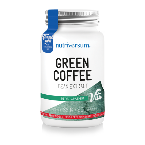 Nutriversum - VITA -  Green Coffee - 60 kapszula