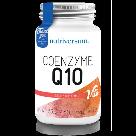 Nutriversum - VITA - Coenzyme Q10 - 60 kapszula