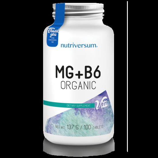 Nutriversum - VITA - MG+B6 - 100 tabletta