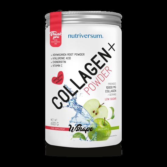 Collagen+ - 600 g - WSHAPE - Nutriversum - zöld alma