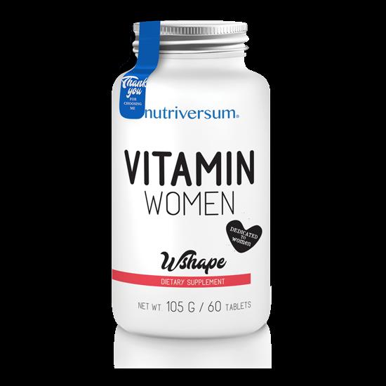 Nutriversum - WSHAPE - Vitamin Women - 60 tabletta