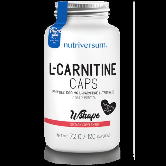 Nutriversum - WSHAPE - L-Carnitine caps - 120 kapszula