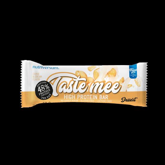 Taste Mee Protein Bar - 50 g - DESSERT - Nutriversum - cookie&cream