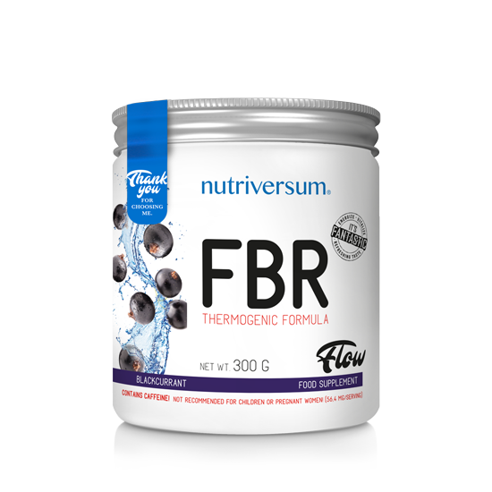 FBR - 300g - FLOW - Nutriversum - feketeribizli