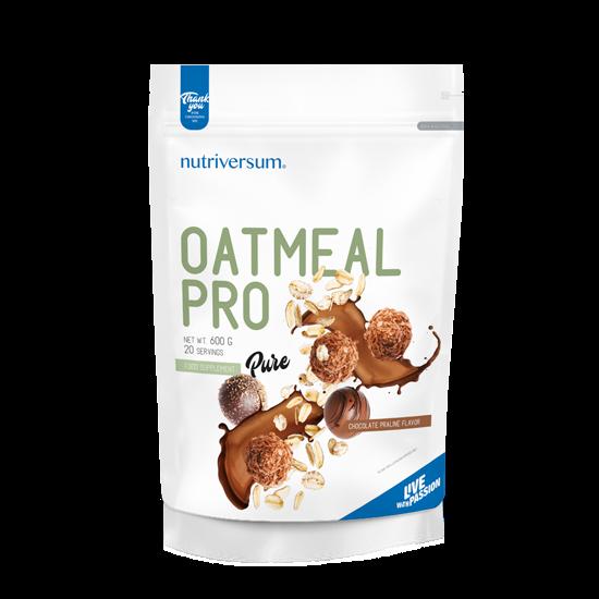Oatmeal PRO - 600 g - PURE - Nutriversum -csokoládé-praliné
