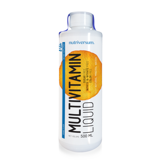 Multivitamin Liquid - 500 ml - VITA - Nutriversum - narancs