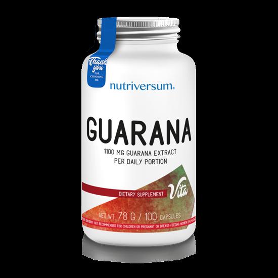 Guarana - 100 kapszula - VITA - Nutriversum