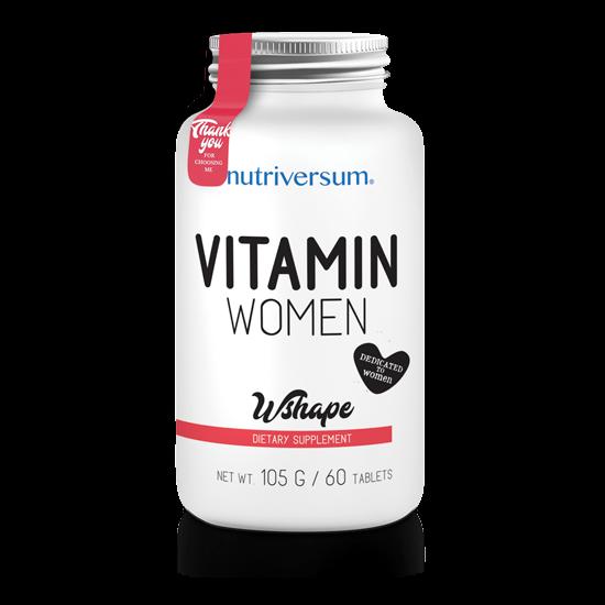 Vitamin Women - 60 tabletta - WSHAPE - Nutriversum