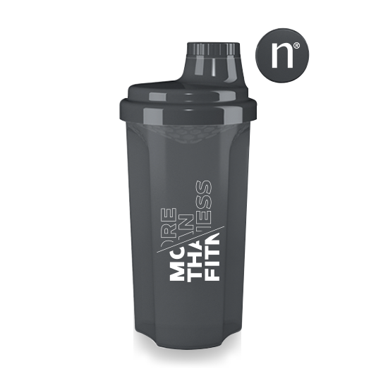 More than Fitness Shaker - 500 ml - DARK - Nutriversum