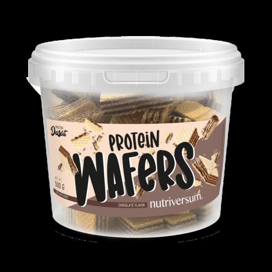 Protein Wafers - 500 g - DESSERT - Nutriversum - csokoládé