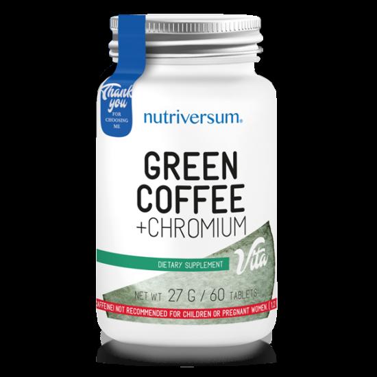 Green Coffee + Chromium - 60 tabletta - VITA - Nutriversum