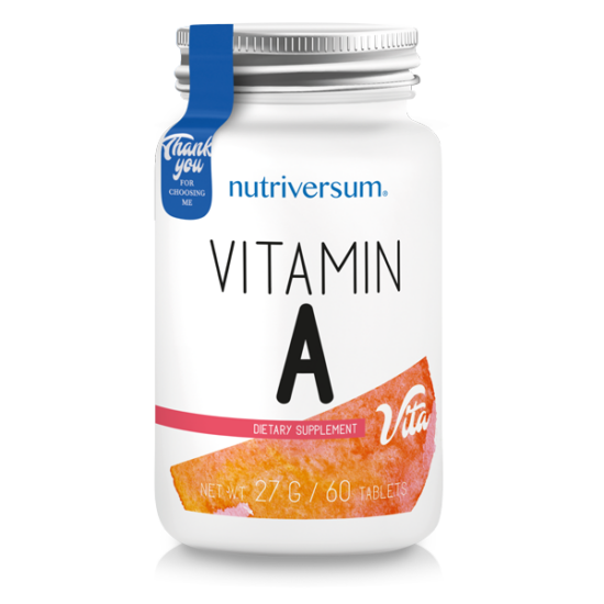 Vitamin A - 60 tabletta - VITA - Nutriversum