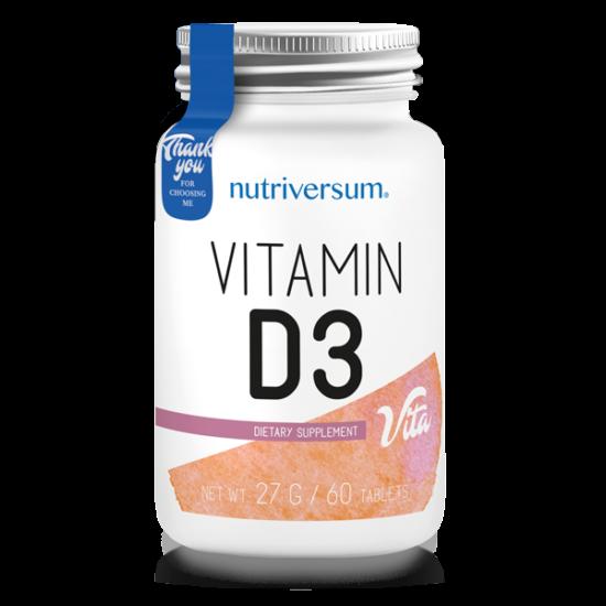D3 - 60 tabletta - VITA - Nutriversum