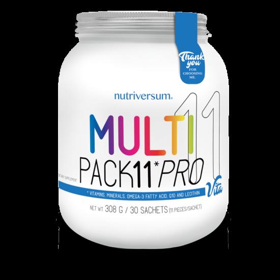 Multi Pack 11 PRO - 30 pak - VITA - Nutriversum