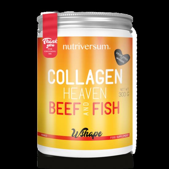 Collagen Heaven Beef&Fish - 300 g - WSHAPE - Nutriversum - Mangó