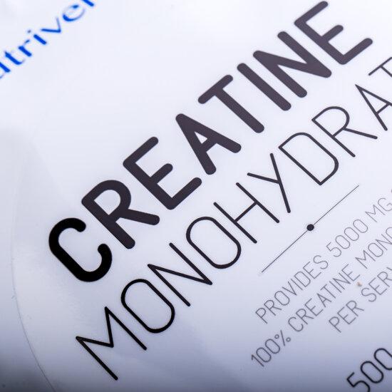 Creatine Monohydrate - 500g - BASIC - Nutriversum - ízesítetlen