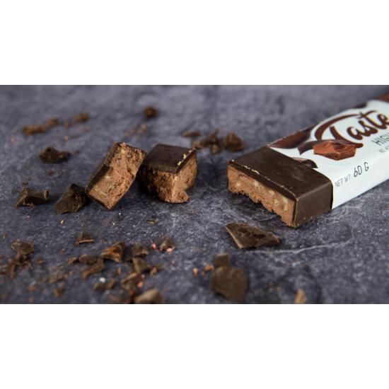Taste Mee Protein Bar - 60 g (csoki bevonatos) - DESSERT - Nutriversum - csokoládé-mogyoró
