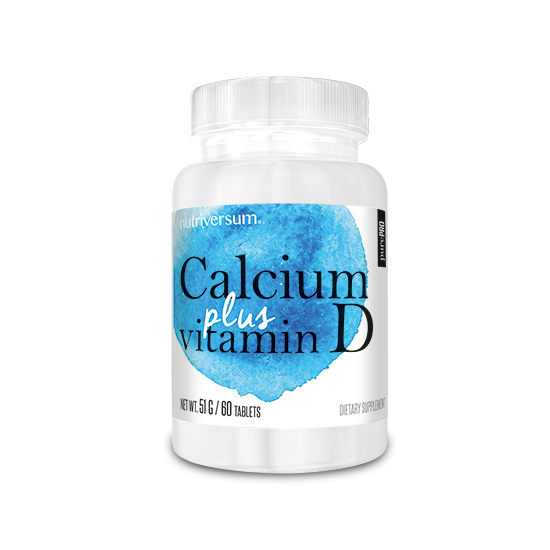 PurePro - Calcium + D Vitamin - 60 tabletta
